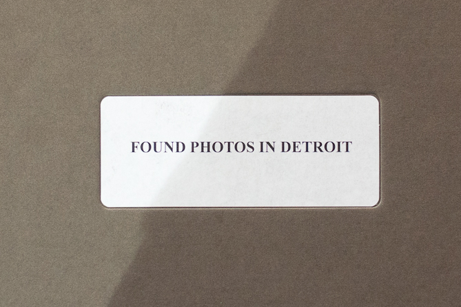 Arianna Arcara Luca Santese Found Photos Detroit Cover