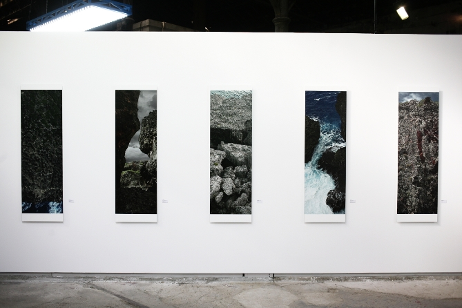 Osamu James Nakagawa banta cliffs and gama cave arles 2012