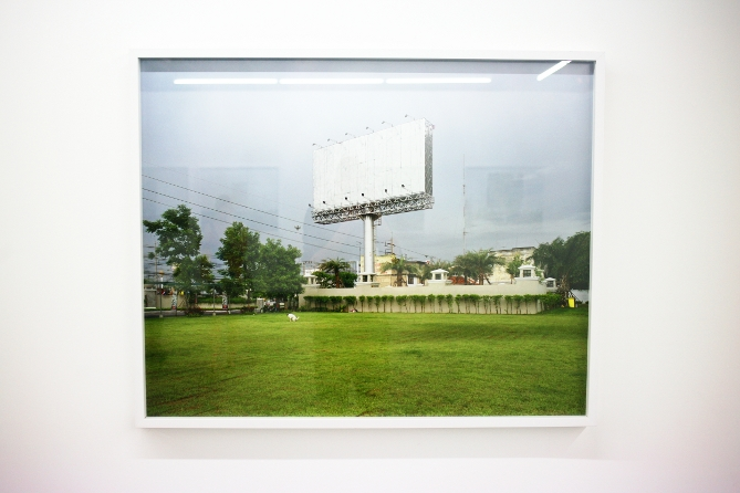 Sunghee Lee Empty Billboards Arles 2012